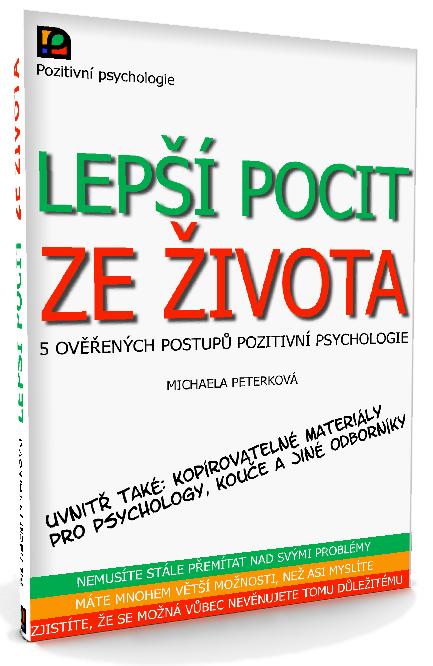 Obálka knížky Lepší pocit ze života, Michaela Peterková